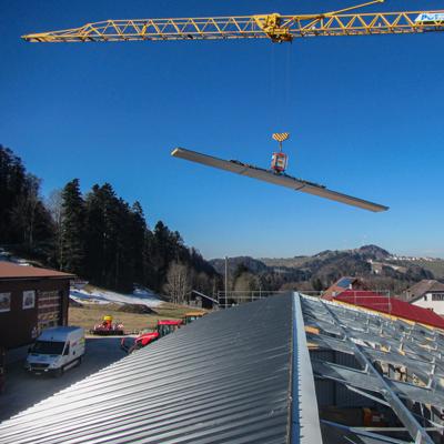 Constructions personnalisées Bâtiment privé ou industriel Besoin d'espace de stockage supplémentaire